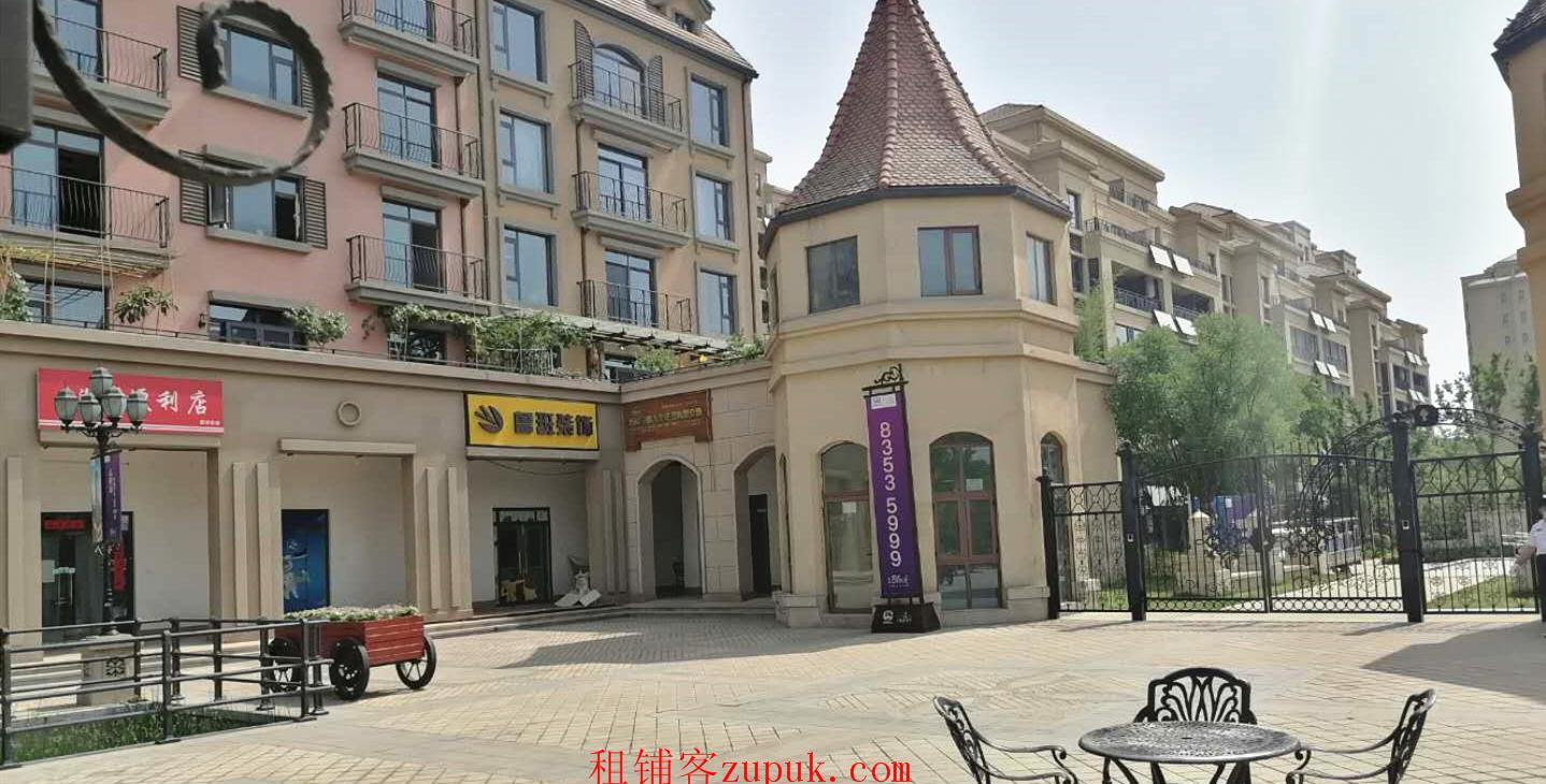 灞桥区高端小区大门口小面积门面房