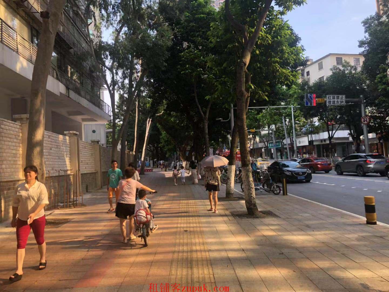 越秀文德路沿街旺铺,可饮品小吃,路口转角位,全天客流不断!