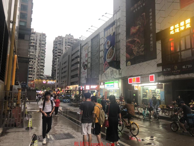 越秀惠福东路餐饮旺铺,一楼转角位,客流不断,成熟商圈!
