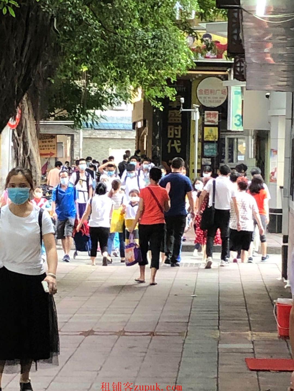 天河南二路临街旺铺,适合小吃饮品,全天客流不断,高消费群体