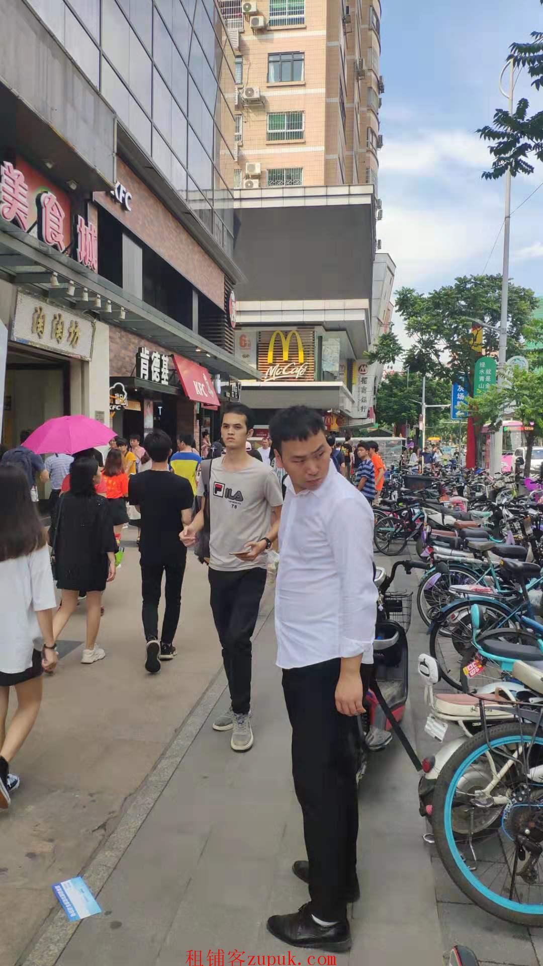 杨箕地铁口沿街旺铺,可轻餐饮小吃等,执照无忧好办理