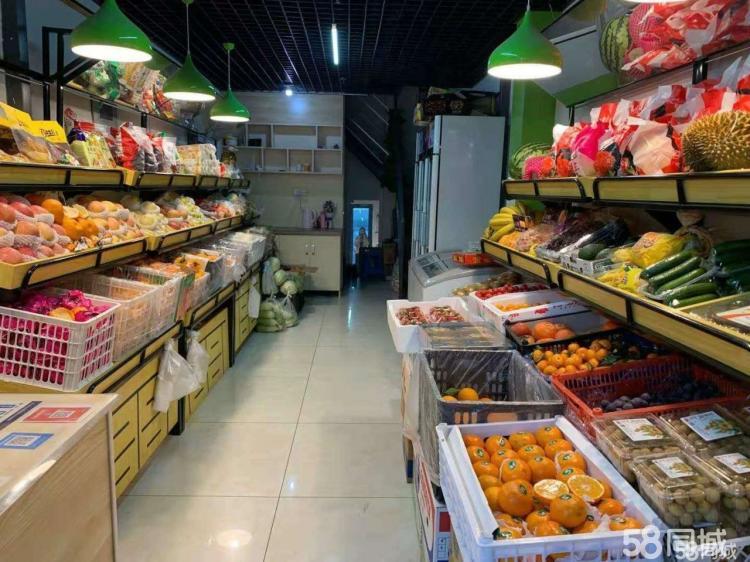 个人出租已装修水果店,无转让费,适合各种经营