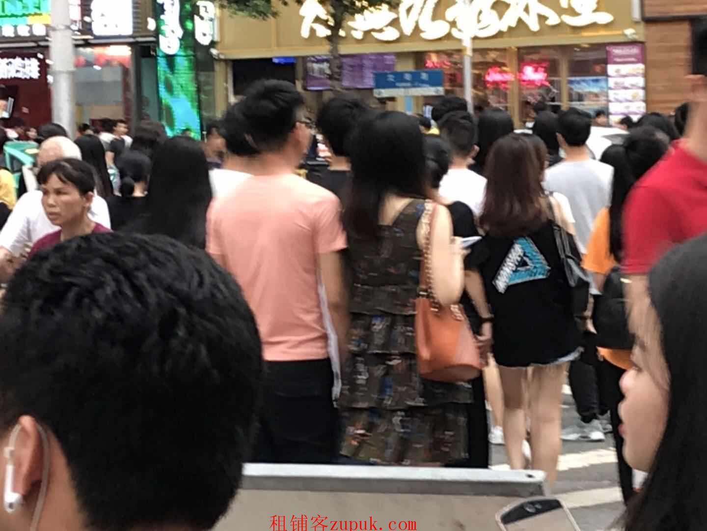 北京路步行街街口,人超多消费能力强适合零售 奶茶 轻餐小吃