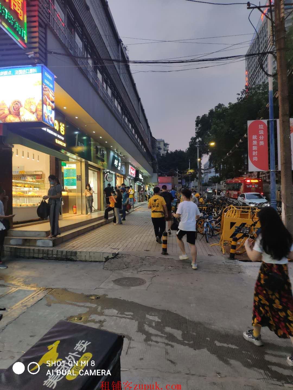 环市西路沿街商铺,近地铁,全天人流不断,消费能力强