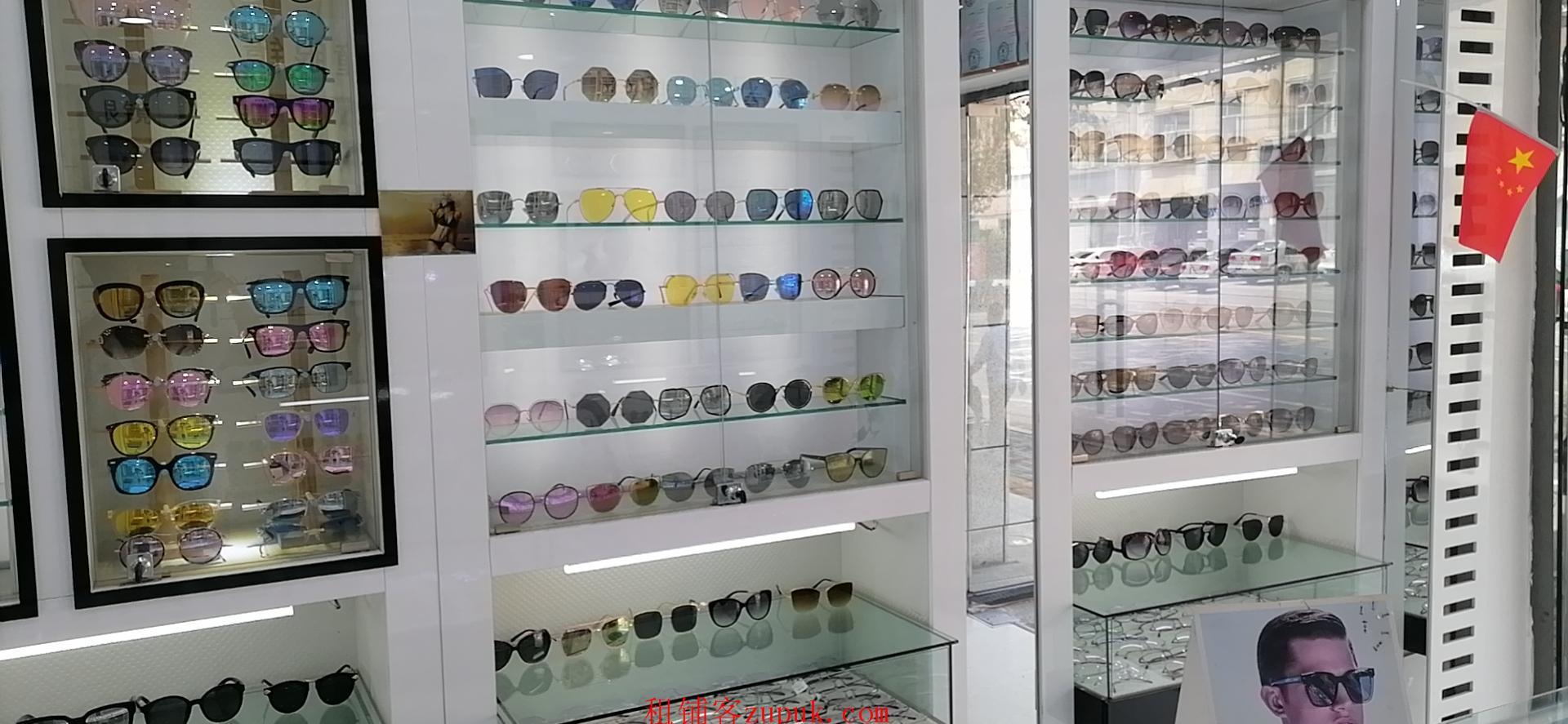 大学盈利眼镜店转让