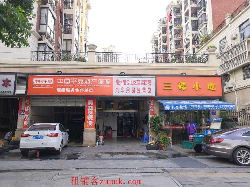 香江枫景十字路口沿街旺铺出租