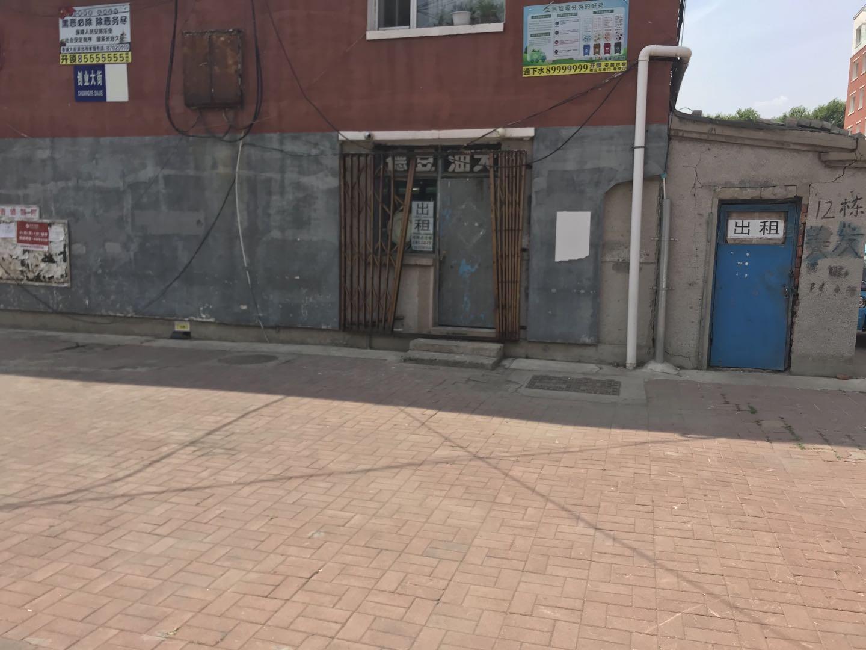 长租 临街门市房 一个房子 两个门脸 可作为不同生意使用