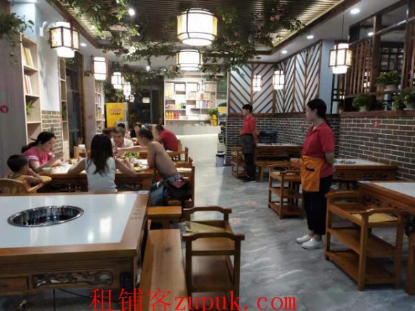 地铁口商业街精装修餐厅菜馆转让