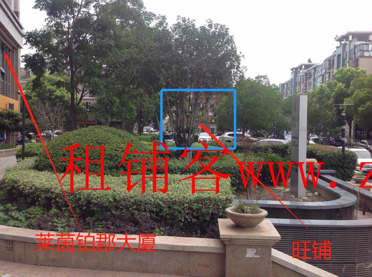 【旺铺出租】★★莱茵财富广场临街门面221.45平米招租★★