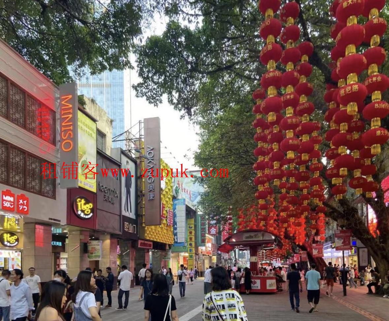 北京路步行街中心位置