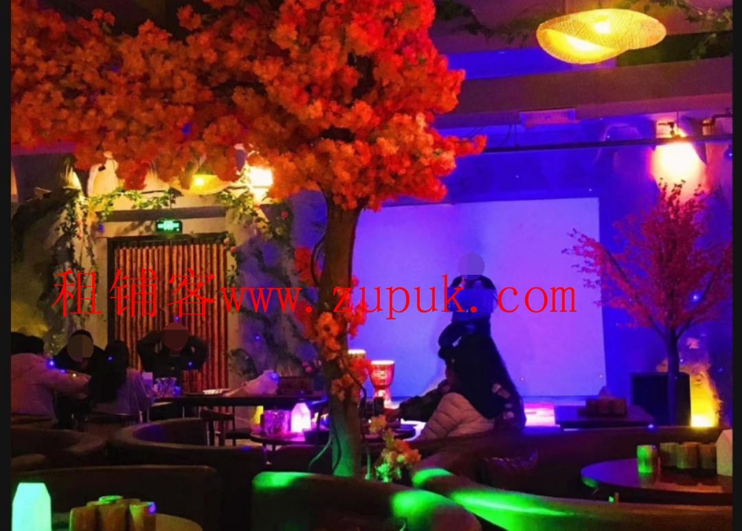 花果园兰花广场347平盈利酒吧生意转让