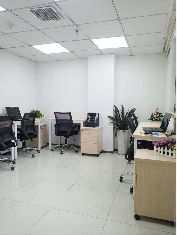 创业型独立拎包办公室 带家私 配套设施完善 朝南靠窗 可注册