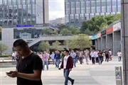 长宁凌空万人园区一楼独立店150平人流量大饭点爆满
