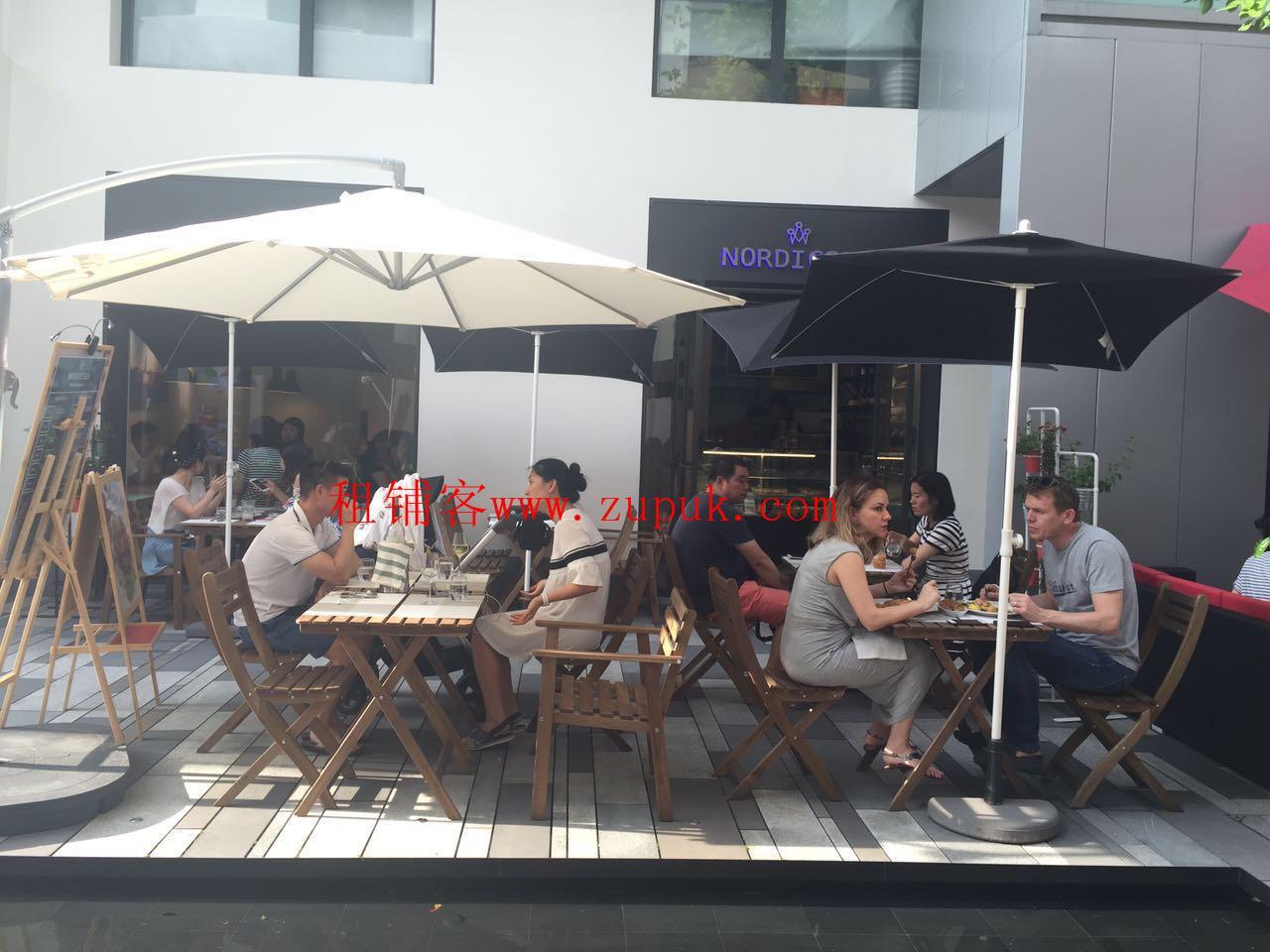 北京路旺铺招租沿街带外摆,咖啡 烘焙 甜品 奶茶 简餐超合适