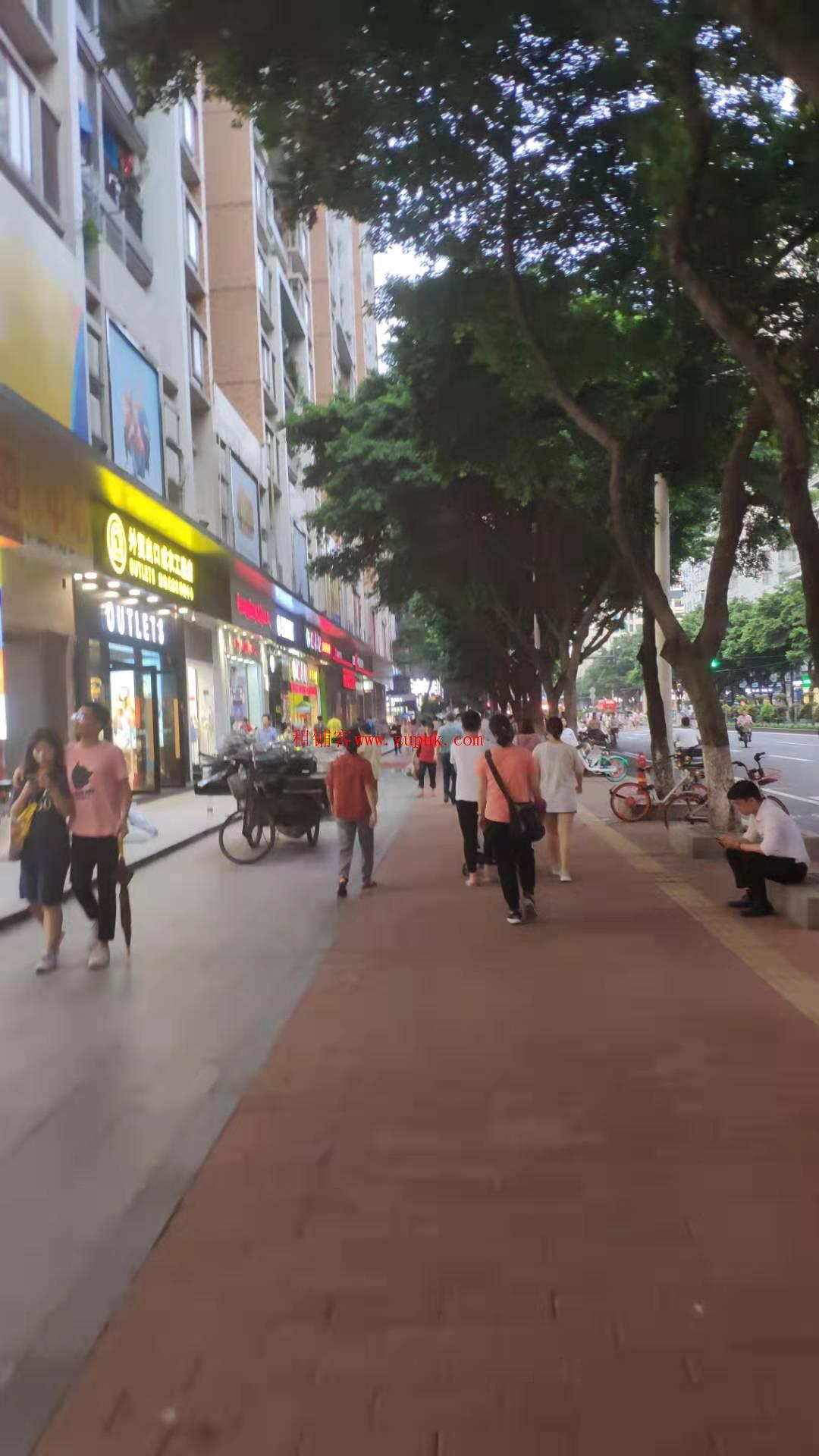 越秀中山一路沿街旺铺,小区出入口,可早餐熟食斩料,过路客不断