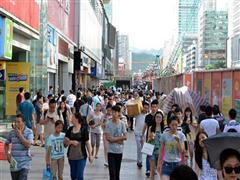 京溪南方医院地铁口沿街旺铺,全天人流不端,居民消费水平高