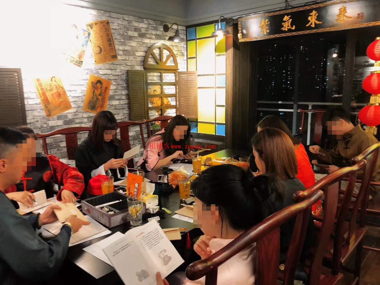 长江路宏明大厦有固定客源桌游吧转让