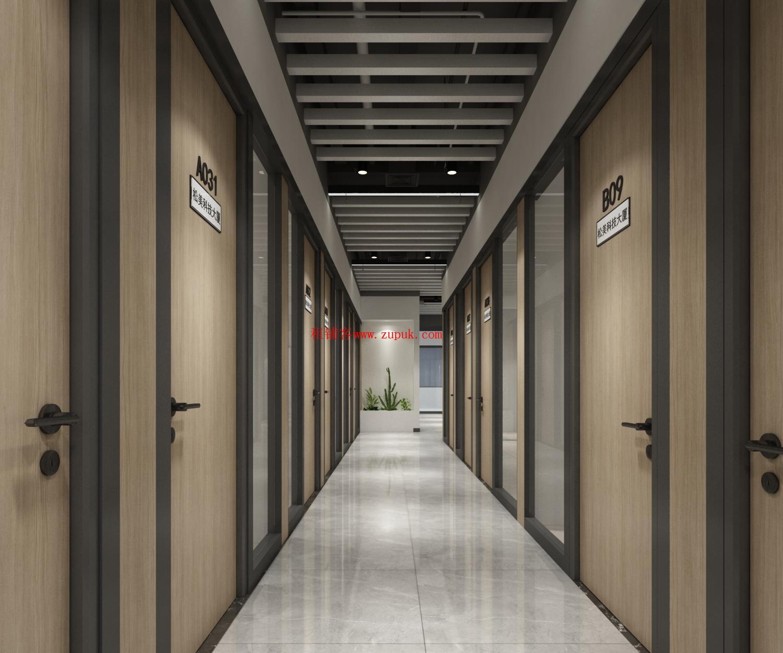 松岗精装小面积办公室 提供红本租赁 银行变更解锁异常