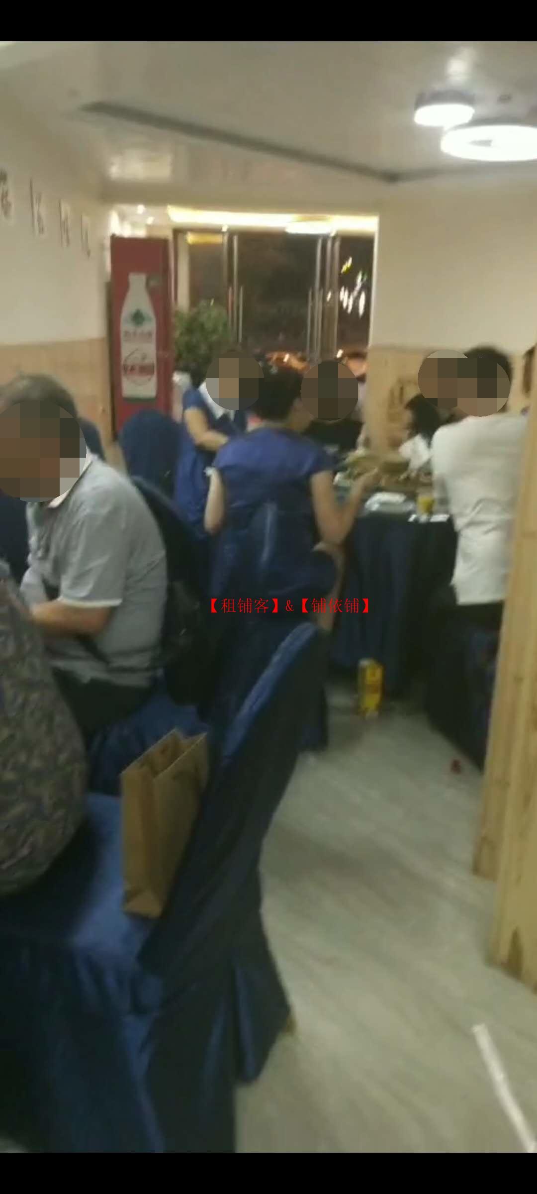 白云俊发城营业中大型餐饮店房东直租无转让费
