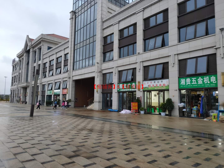 贵安山语城A地块B段商业街门面房东直租