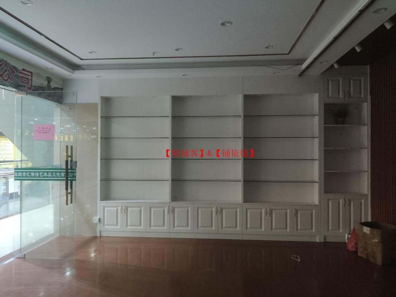 沙井西部茶城现二楼有144平方商铺出租.可分租(管理处直招)