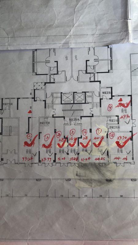 出租温江区温江城区商业区欧郡2楼203-208,可分租