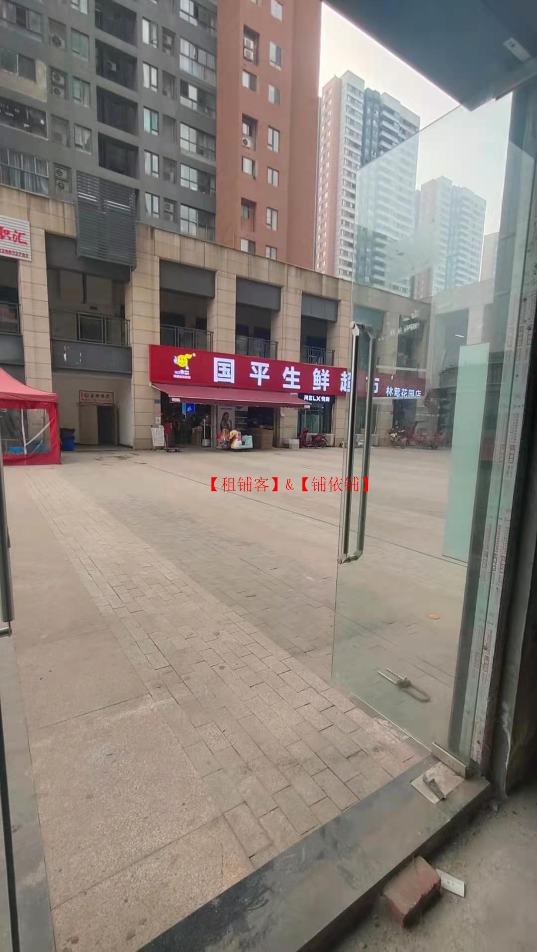 出租渝北空港新城中国摩公寓大门口商铺