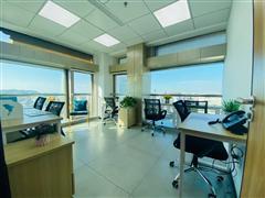 上城区高层靠窗独立精装办公室设备完善一应俱全费用全