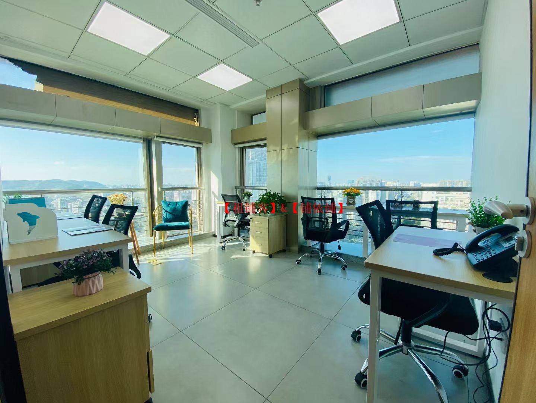 上城区精装中小型写字楼免水电,物业费,办公家私,非中介