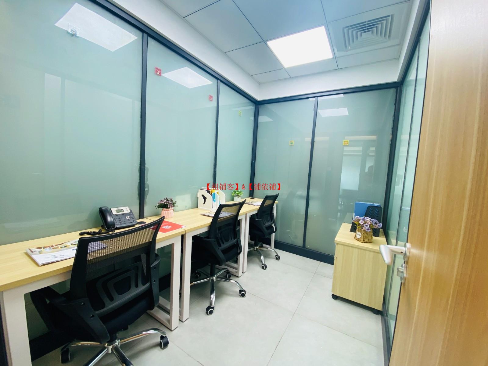 上城区 3人间精装独立办公室1500元 可注册食品医疗器械