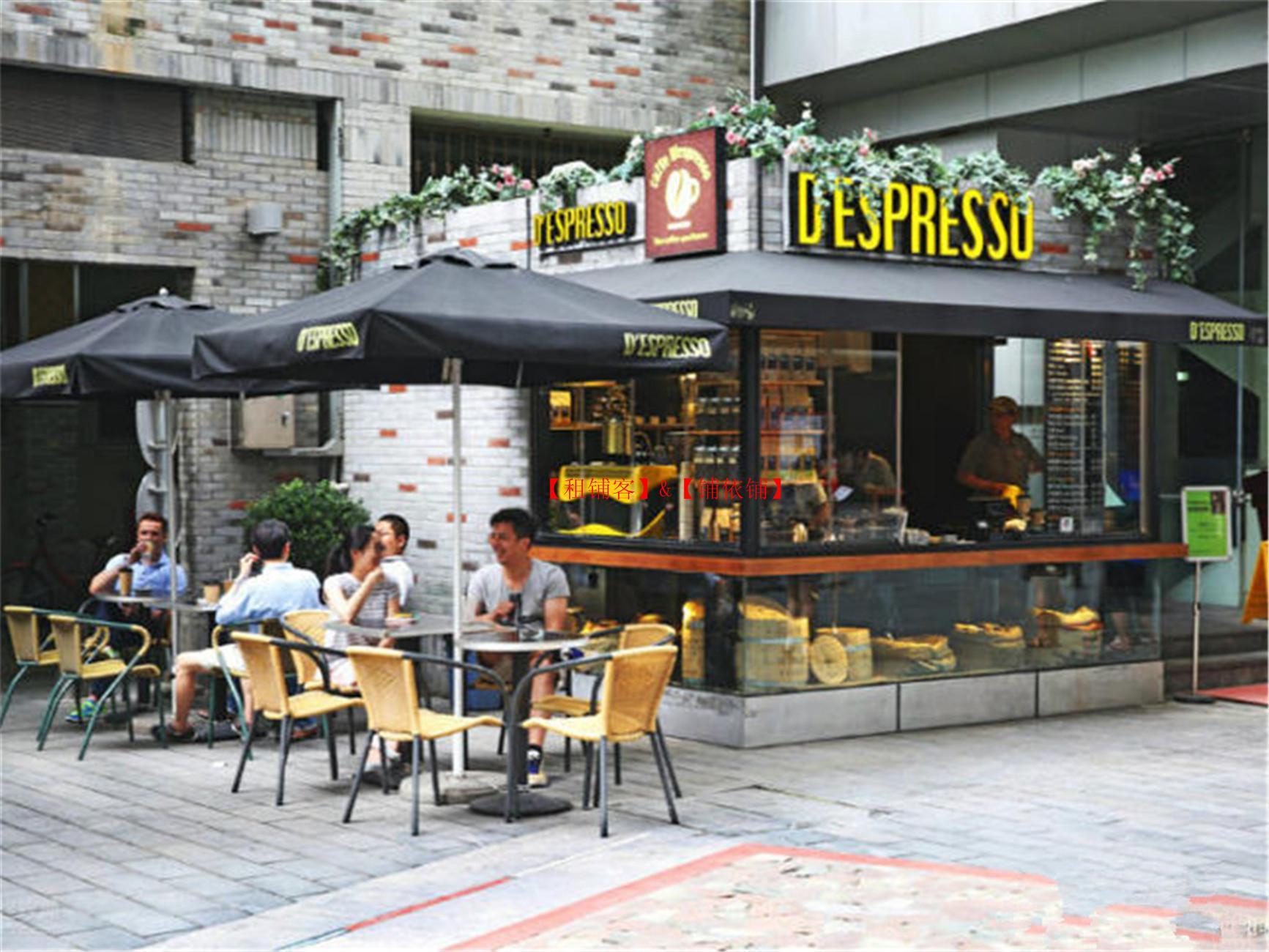 真实商铺环贸商圈 咖啡酒吧旺铺出租,执照齐全,看铺随时