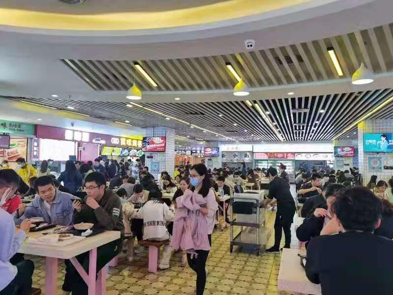 岗顶地铁口沿街商铺,可餐饮,客流量大!