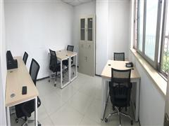 市中心板块地铁口 精装独立办公室3人间1400 费用全包