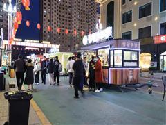 郑东新区龙子湖大学城太格茂外场招租 学生多 人流大
