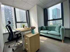 非中介 近地铁多种户型全新精装办公室送家私 政策补助支持创业
