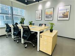 500起租全包价 通讯繁华地段高层精装写字楼 送家私设备完善